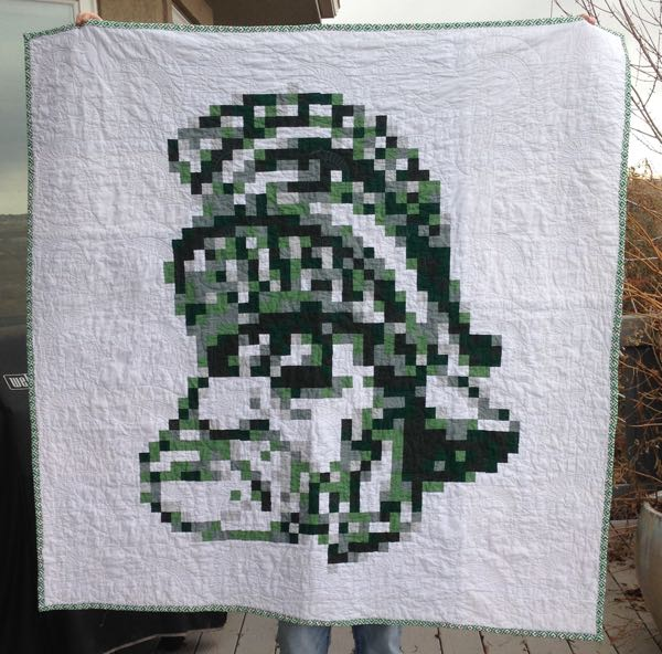 Sparty Quilt
