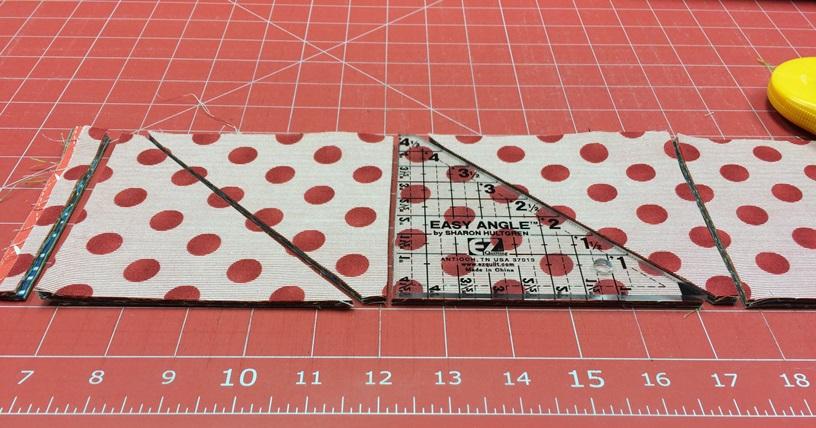 cutting layers of fabrics