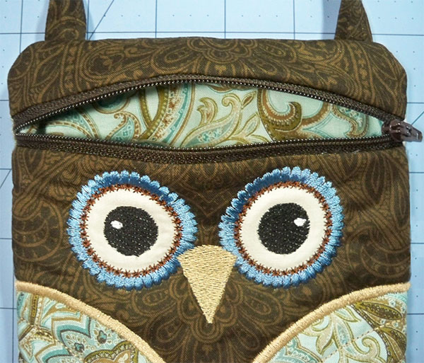 ITH owl purse lining