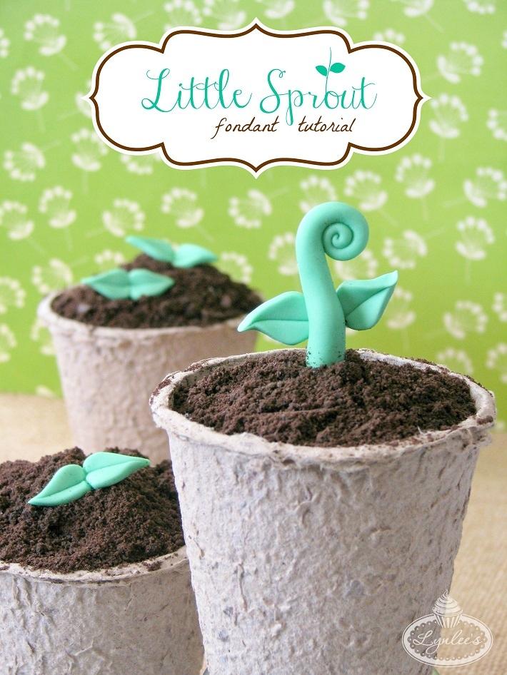 Little Sprout fondant tutorial