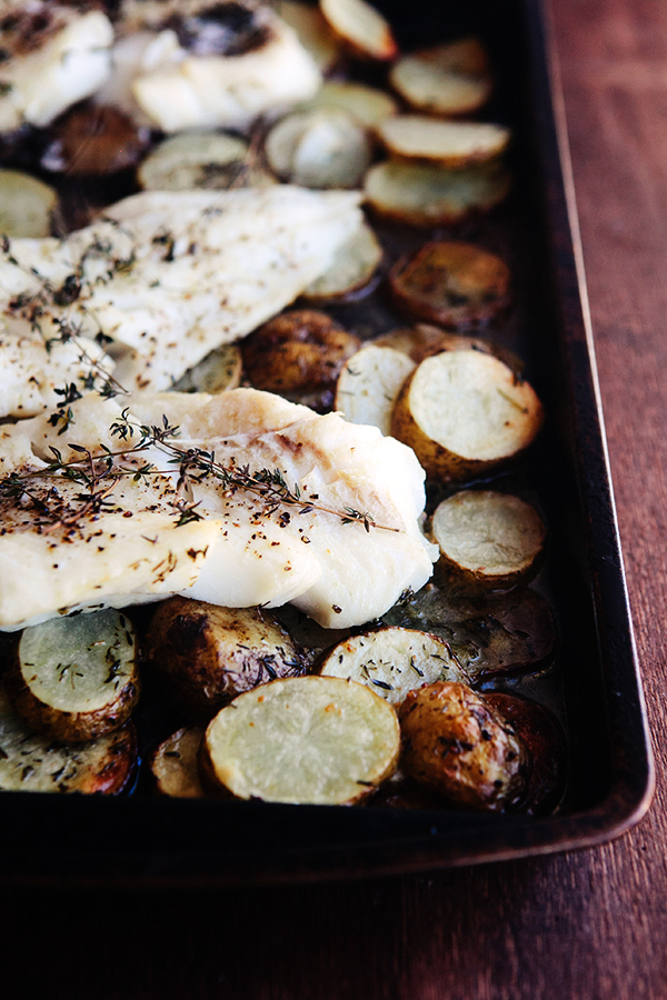 Oven Roasted Fish