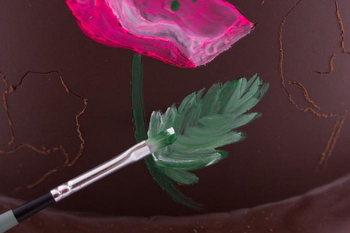 Painting leaf step7