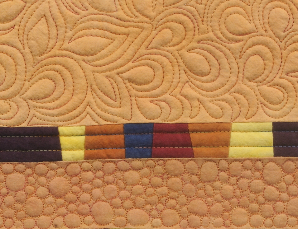 Detail of Flame Stitch
