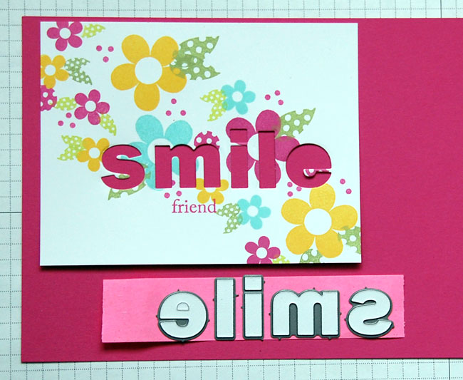 "Making a ""Smile"" Card"