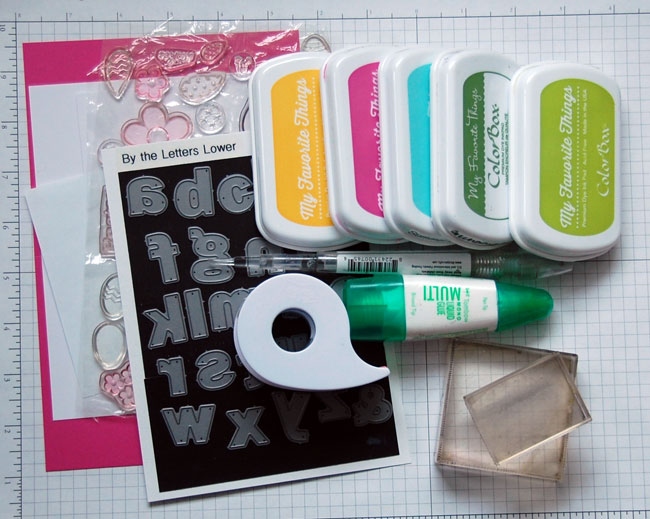 Supplies for Card Making