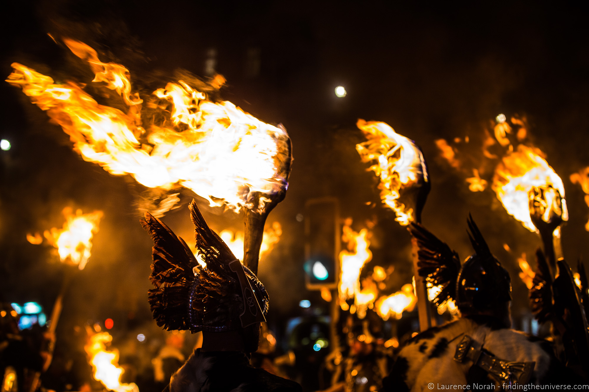 Viking torchlight procession Edinburgh Hogmanay - scaled