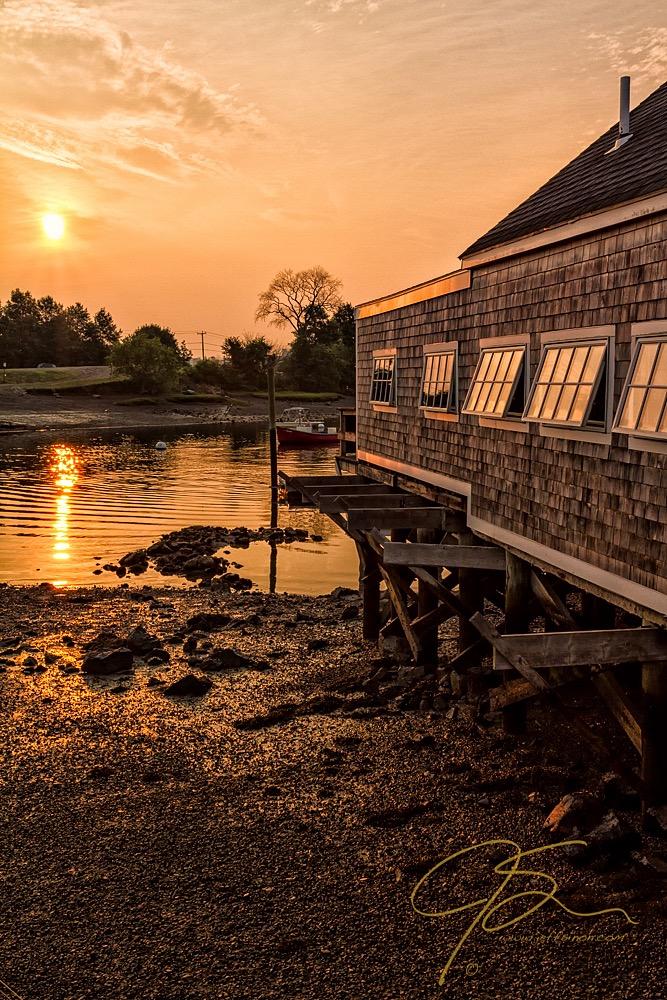 Golden Light, Pierce Island