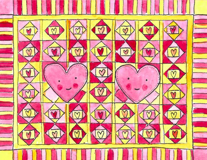 a quilter's valentine