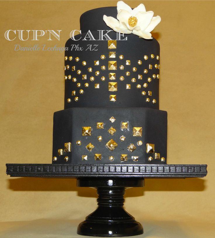 Studded cake
