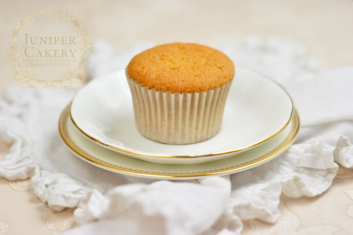 Step-by-step tutorial on making a couture-inspired cupcake by Juniper Cakery