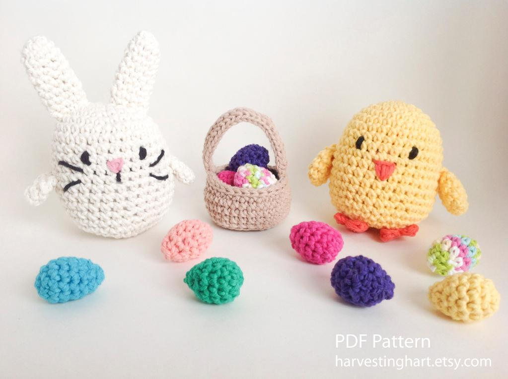 crochet toy set