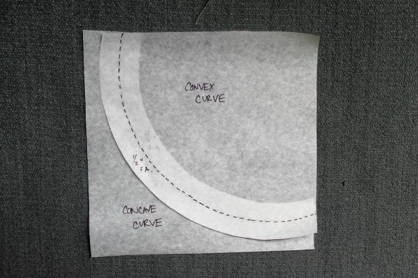 curves aligned at seam