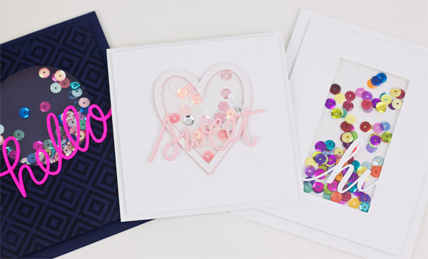 3 Ways to Make a Shaker Card