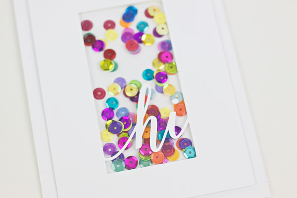 Make a Shaker Card : Method 3