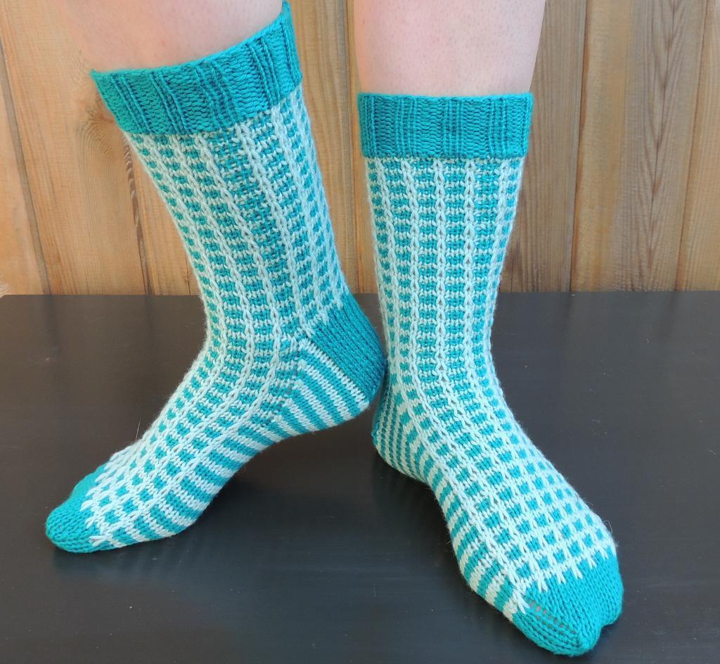 Sock Feat knitting pattern