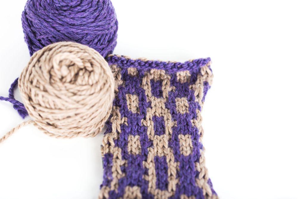Mosaic Knitting Stitch