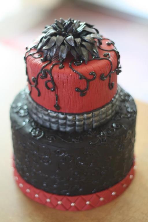 Punk rock cake