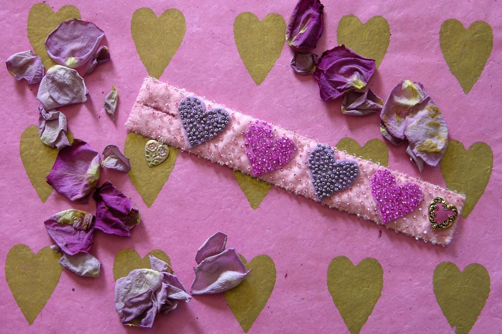 Heart Cuff jewelry pattern
