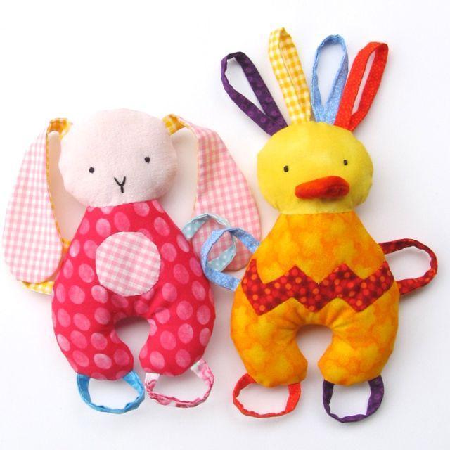 Barnyard Baby Tag Toys