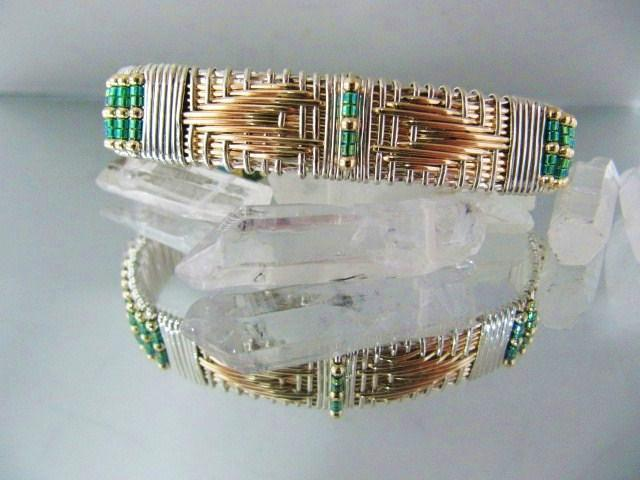 Navajo Heart Cuff Bracelet tutorial