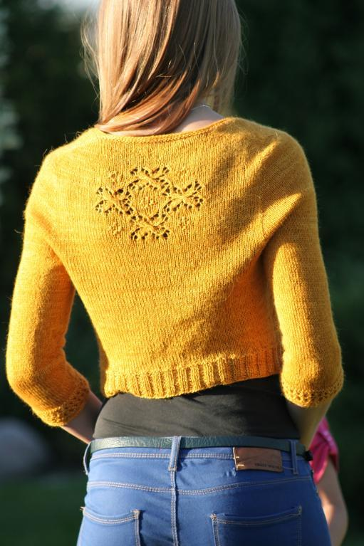 Secrecy Cardigan knitting pattern