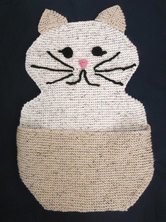 Hide and Sleep Blanket for Pets knitting pattern
