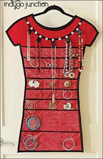 Store in Style Hanging Jewelry Organizer