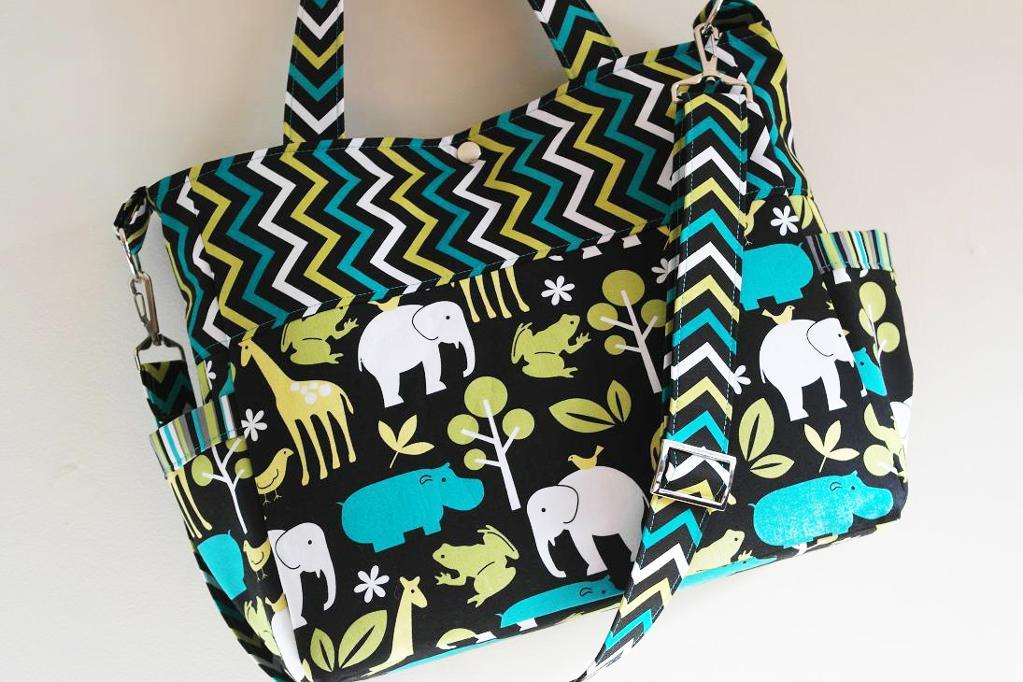 Sophie Diaper Bag Pattern