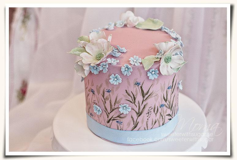 Longing for Spring Cake by Bluprint member Monika Martinson