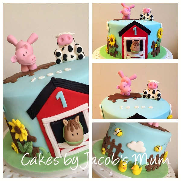 Down On The Farm Cakes And Cupcakes