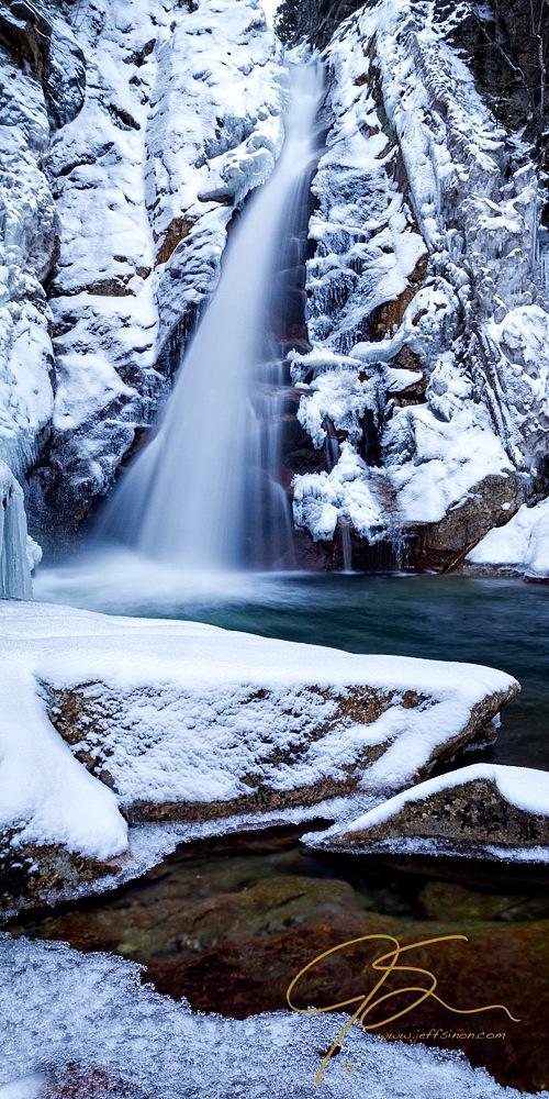 Glen Ellis Falls - Winter Beauty