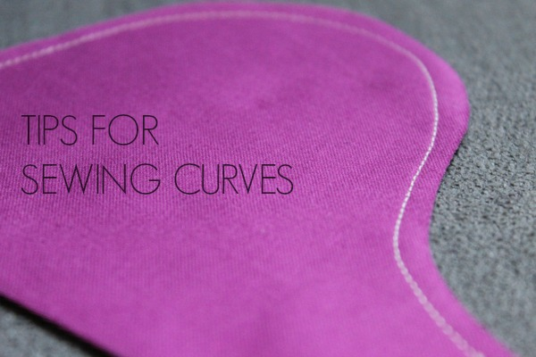 how to sew curves