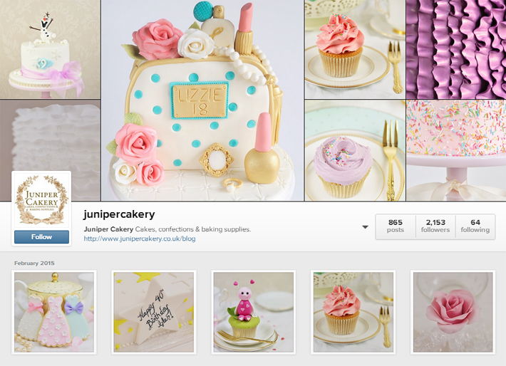 Quick guide to managing an Instagram account for cake businesses