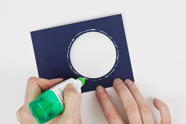 Make a Shaker Card : Method 1, Step 3
