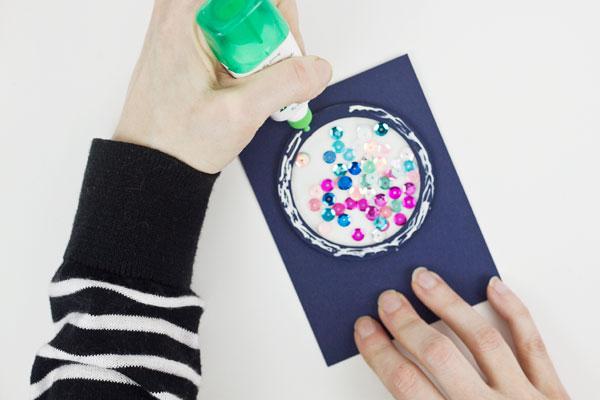 Make a Shaker Card : Method 1, Step 6