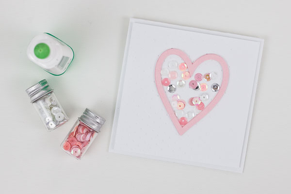 How to Make a Shaker Card : Method 2, Step 2