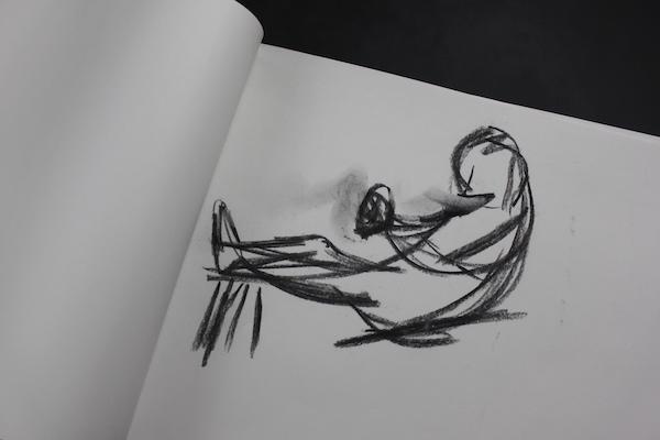 People in motion  - sketch