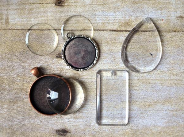 Nail Polish Jewelry Cabochons