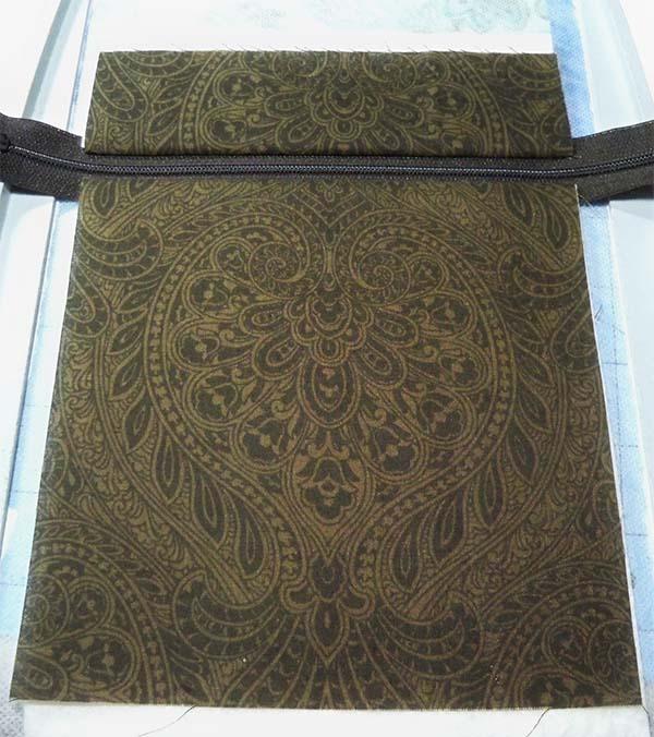 owl purse base fabric