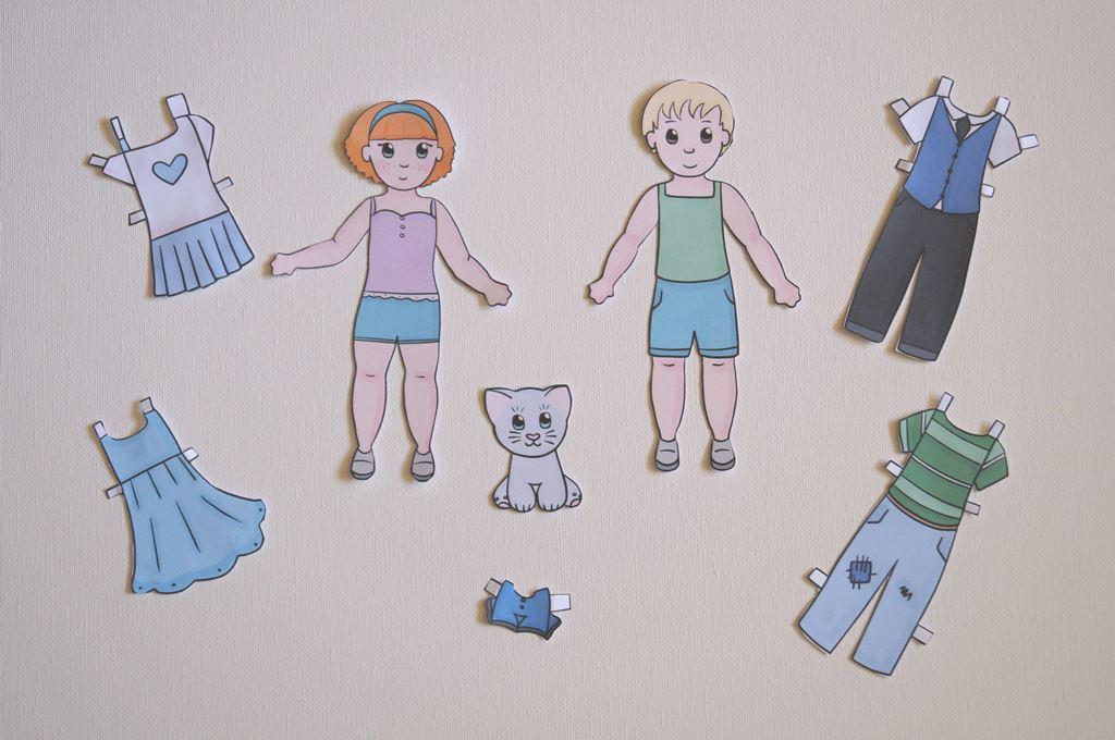 play time paper dolls