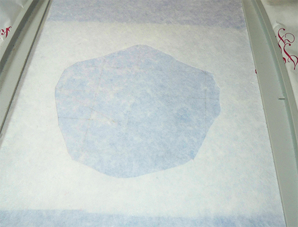 stabilizer window with backing