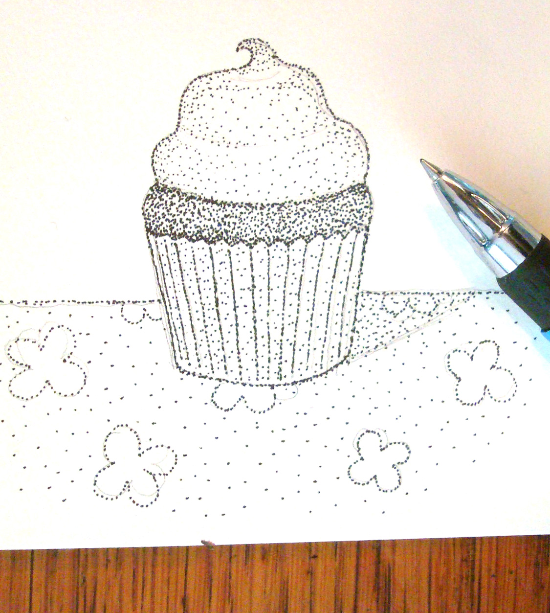 Stippling example