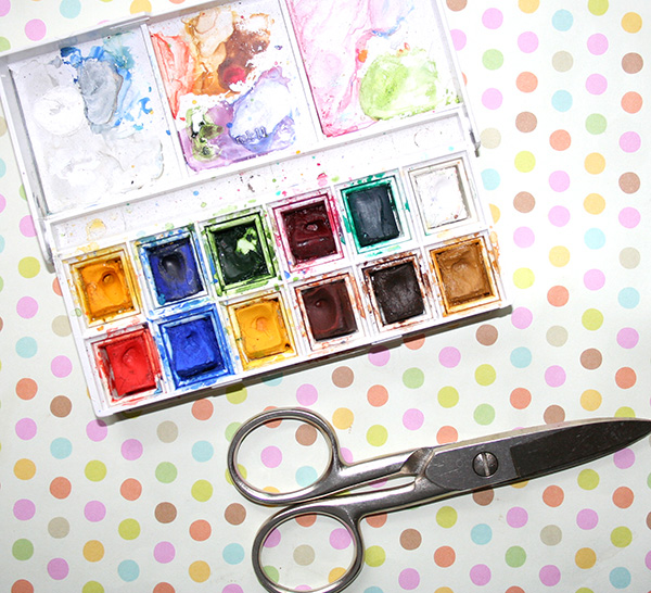 Petite watercolor kit