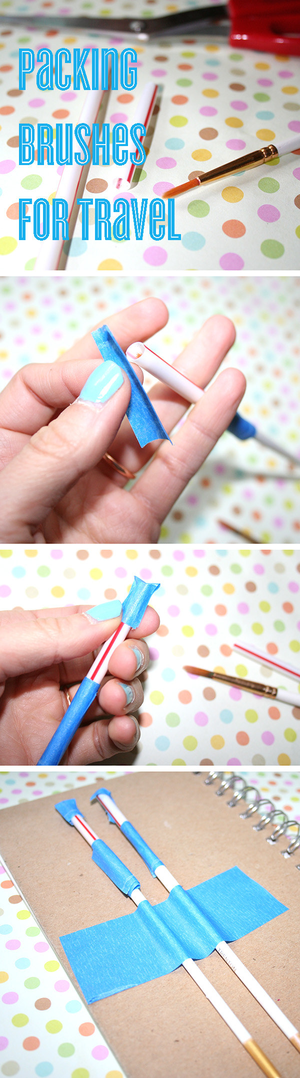 Pack brushes