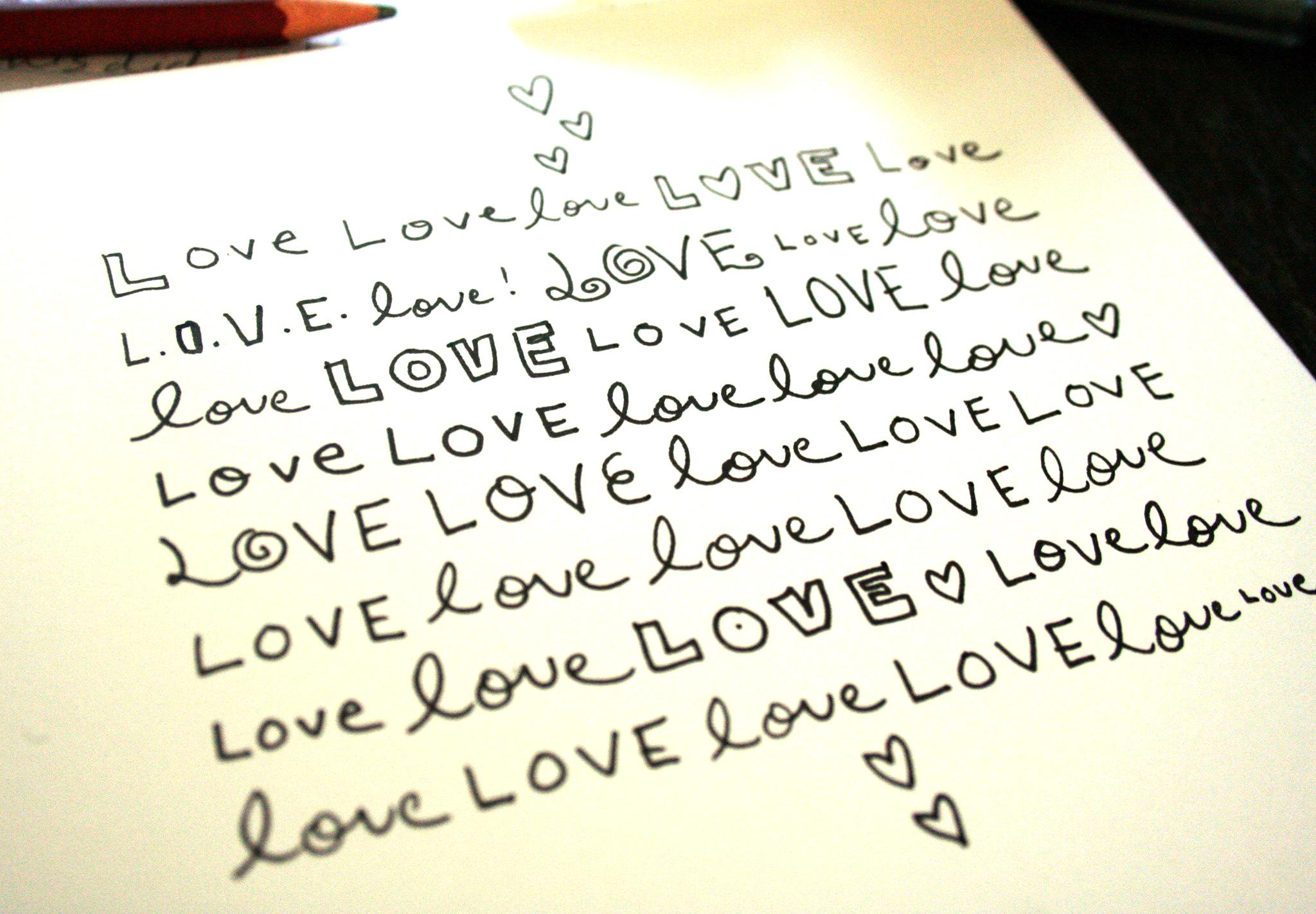 Lettering doodle