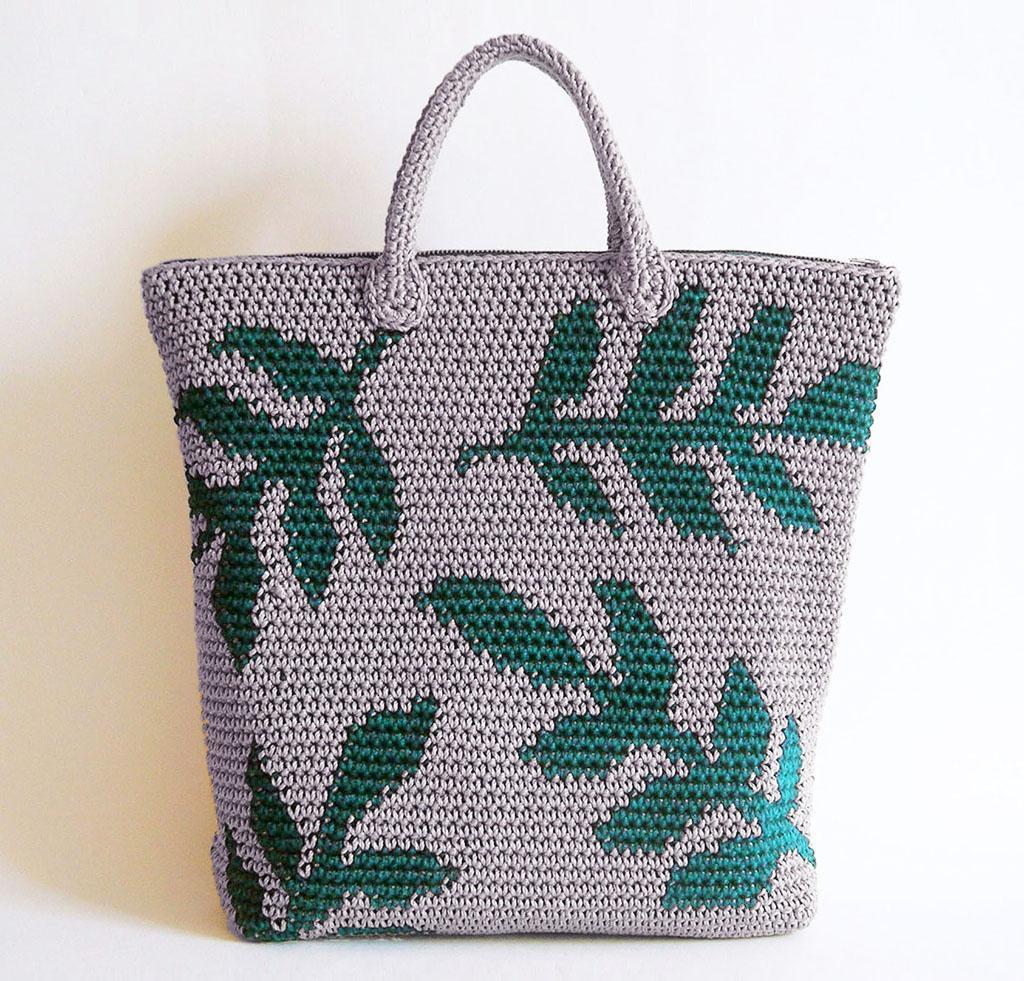 Leaves Backpack Crochet Kit