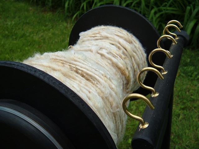 Handspun Border Leicester Wool