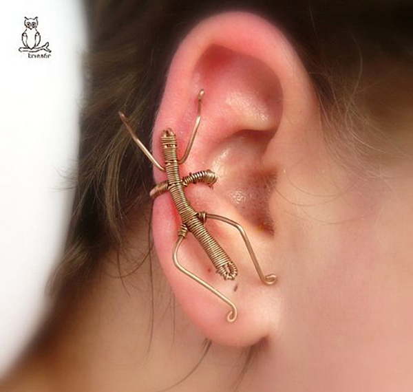 Wire Stick Ear Cuff