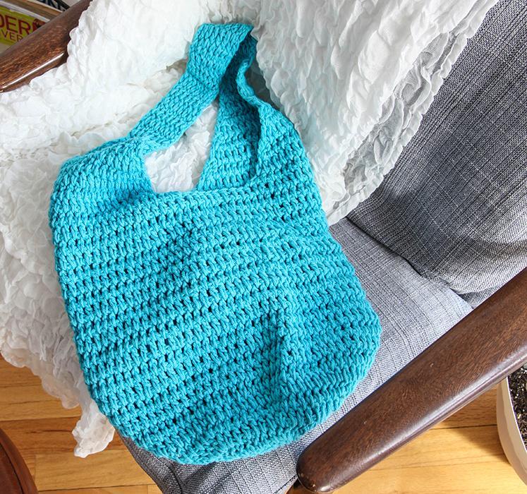 4 Ball Market Bag Crochet Kit