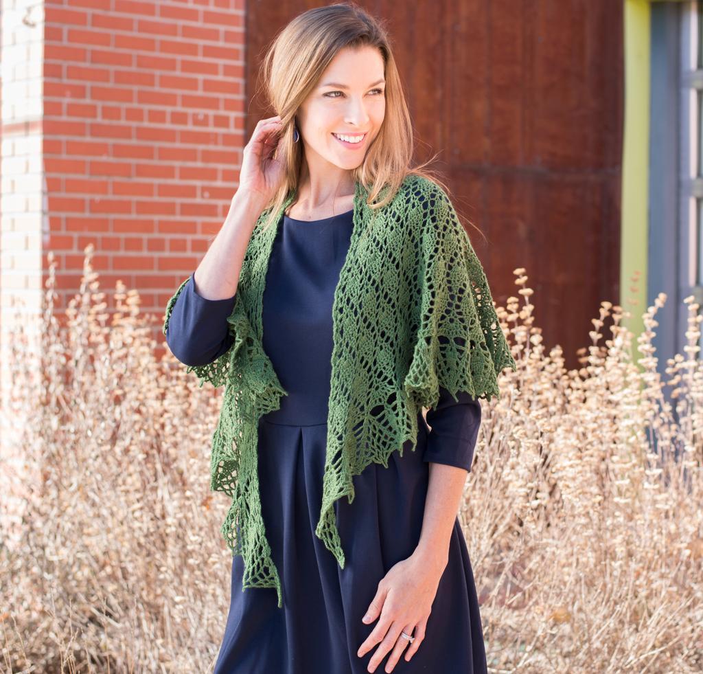 Small Talk Shawl Crochet Kit